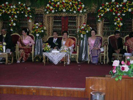 Pernikahan Leonard T.Panjaitan dengan Theresa Sinurat On 30 June 2006